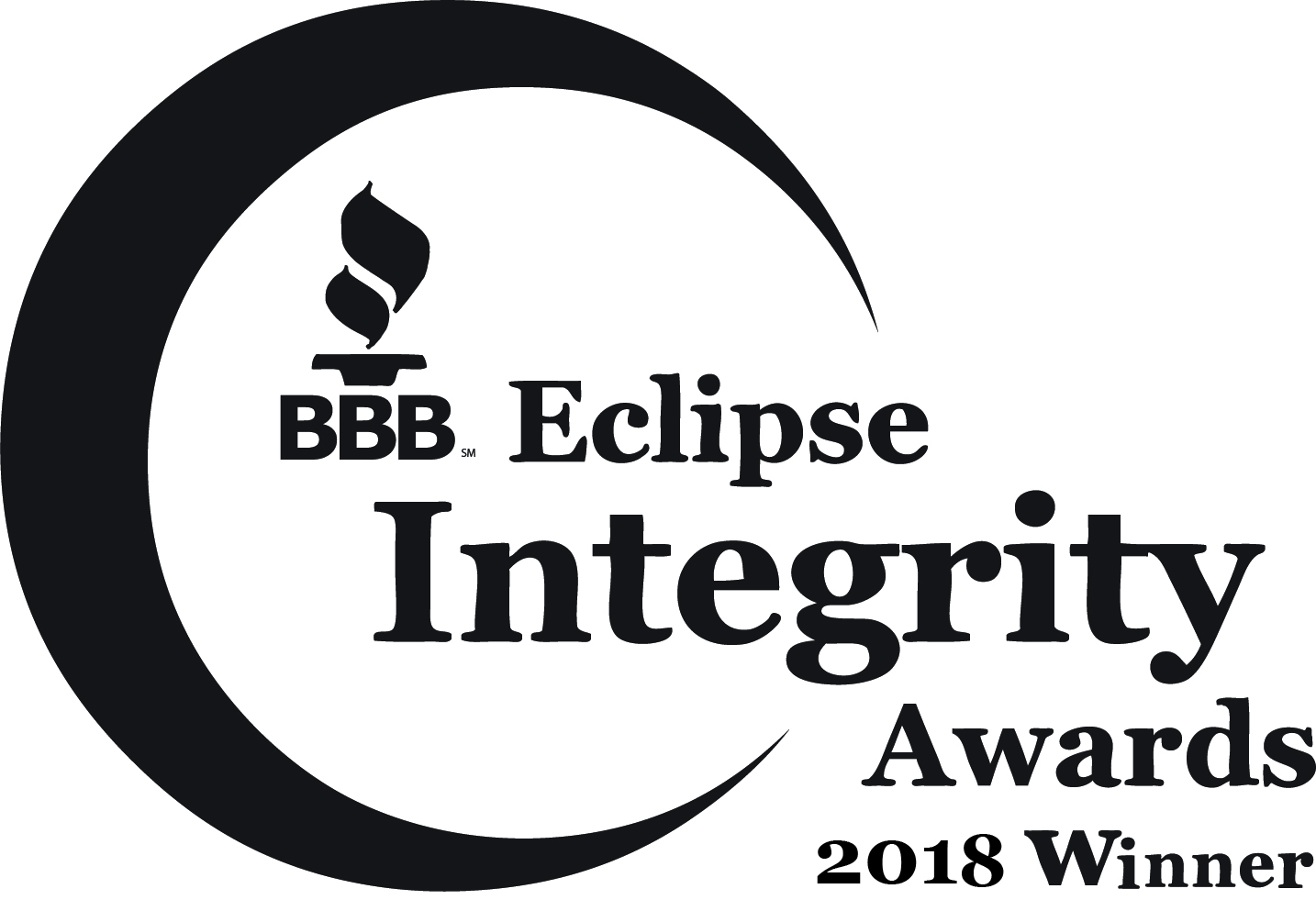 Better Business Bureau's Eclipse Integrity Awards 2018 Winner