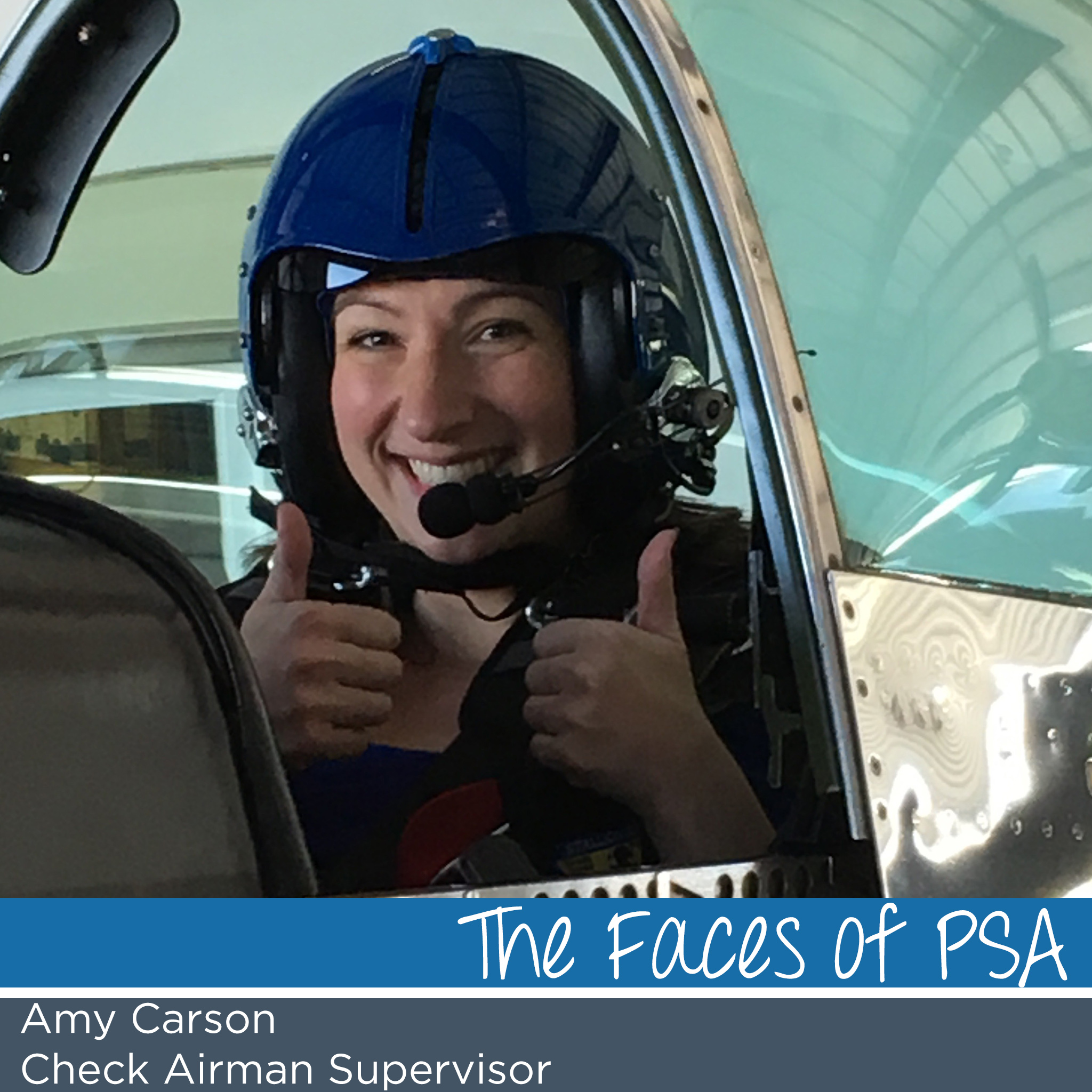 Faces of PSA- Amy Carson   PSA Airlines